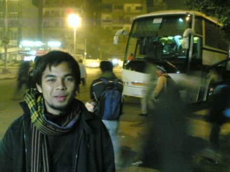 Raes Sebelum Bertolak ke Sinai